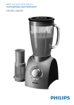 Philips Aluminium Collection Blender HR2094/30