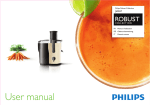 Philips Robust Collection Juicer HR1881/10