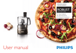 Philips Robust Collection Food processor HR7781/10