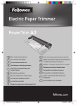 Fellowes Powertrim A3