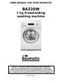 Baumatic BA320W washing machine