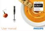 Philips Robust Collection Hand blender HR1379/00