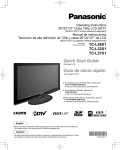 Panasonic TC-L32X1 LCD TV