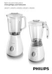 Philips Daily Collection Blender HR2001/70