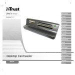 Trust All-in-1 Desktop Card Reader, 4 Pack