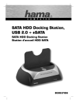 Hama SATA HDD Docking Station