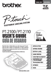 Brother PT-2110 P-Touch