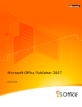 Microsoft Office Publisher 2007, MVL, WIN, x32, CD, THA