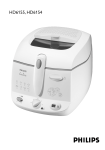 Philips Deep-fat fryer HD6155