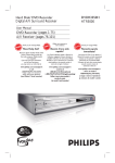 Philips HTS5800H HDD/DVD Recorder Home Theater