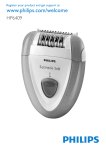 Philips HP6409/22 Epilator