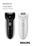 Philips Satinelle Ice Epilator HP6495