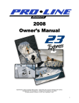 2008 Owner`s Manual - Pro
