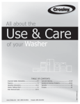 All about the of your Washer