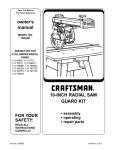 Samsung SW81ASP Washer User Manual