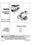 ENGINE - Sears Parts