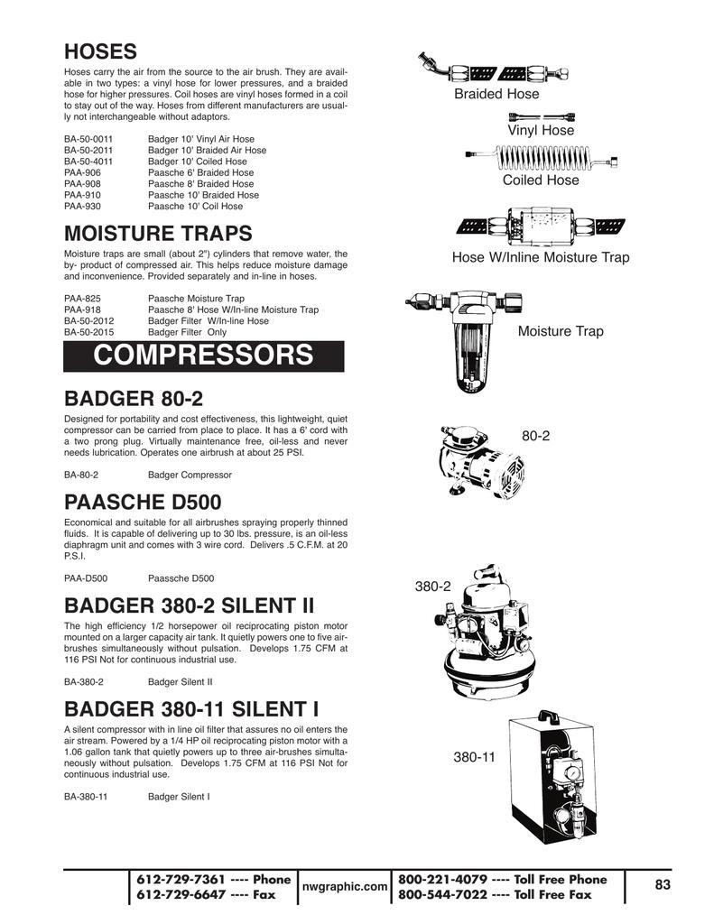 Art Supplies Catalog - Section 2