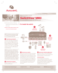SwitchView® MM2 - CNET Content Solutions