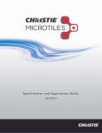 Christie MicroTiles Specification and Application Guide