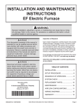 EFV Installation Manual