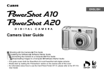 Canon PowerShot A20 Digital Camera