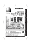 Panasonic PV-C1333 13 in. TV/VCR Combo