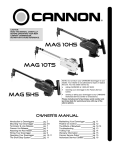 Cannon Mag 10ts Tournament Series Electronic Downrigger