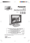 Panasonic TC-32LX20 32 in. HD