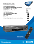 RCA Single Disc DVD Player: 4-Head Hi
