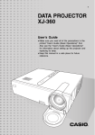 Casio XJ-360 Multimedia Projector