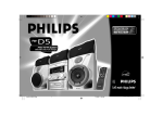 Philips FW-D5 CD Shelf System