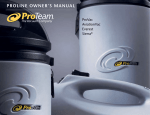 Proteam ProVac 100 Canister Vacuum