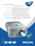 Philips Garbo Matchline LC7181 Multimedia Projector