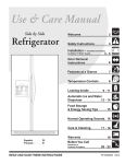 Frigidaire FRS23R4A Side by Side Refrigerator