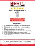 Xerox 4260/XF All in One Printer User Manual