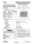 White Rodgers 1F95-1280 Thermostat User Manual