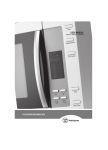 Westinghouse WMS281SF Microwave Oven User Manual