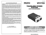Vector VEC1042MG Automobile Battery Charger User Manual