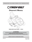 Troy-Bilt 769-06304 Lawn Mower User Manual