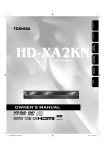 Toshiba HD-XA2KN DVD Player User Manual