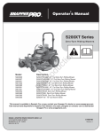 Snapper 5900750 Lawn Mower User Manual