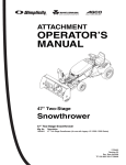 Simplicity 1694399 Lawn Mower User Manual