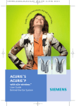Siemens P Hearing Aid User Manual
