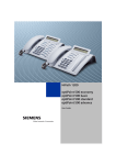 Siemens 1200 Telephone User Manual
