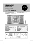 Sharp MD-C2H Speaker System User Manual