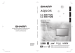 Sharp 09P09-MX-NM Flat Panel Television User Manual