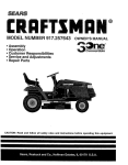 Sears 917.25271 Lawn Mower User Manual