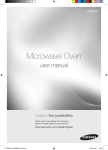 Samsung SMH9207 Microwave Oven User Manual