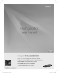 Samsung RSG257AARS Refrigerator User Manual