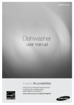 Samsung DMR78 Dishwasher User Manual